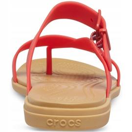 Crocs Women's Slippers Tulum Toe Post red 206108 8C1 2