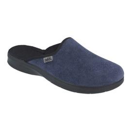 Befado men's shoes pu 548M018 black navy 1