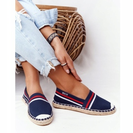 Big Star Tommy espadrilles white red navy 7
