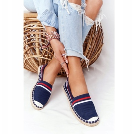 Big Star Tommy espadrilles white red navy 1