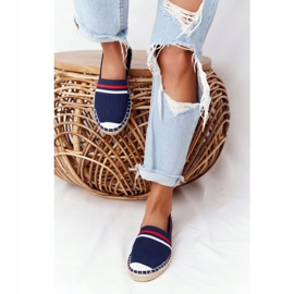 Big Star Tommy espadrilles white red navy 3