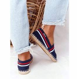 Big Star Tommy espadrilles white red navy 4