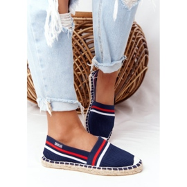 Big Star Tommy espadrilles white red navy 5