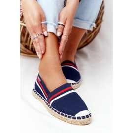 Big Star Tommy espadrilles white red navy 6