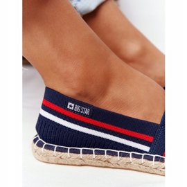 Big Star Tommy espadrilles white red navy 8
