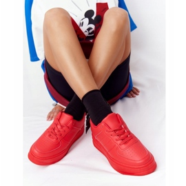 PS1 Women's Sports Shoes On The Platform Red This Is Me 6