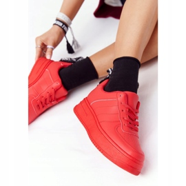 PS1 Women's Sports Shoes On The Platform Red This Is Me 4