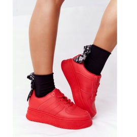 PS1 Women's Sports Shoes On The Platform Red This Is Me 1