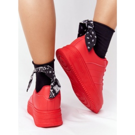PS1 Women's Sports Shoes On The Platform Red This Is Me 2