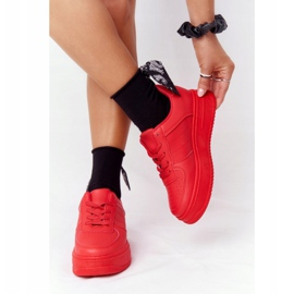 PS1 Women's Sports Shoes On The Platform Red This Is Me 3