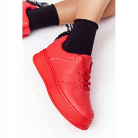 PS1 Women's Sports Shoes On The Platform Red This Is Me 5