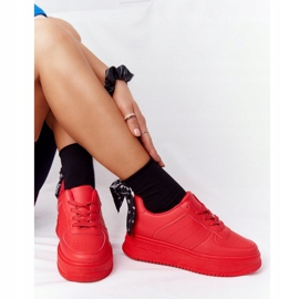 PS1 Women's Sports Shoes On The Platform Red This Is Me 7