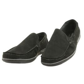 Mario Pala Men's loafers 763 black suede 2