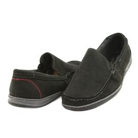 Mario Pala Men's loafers 763 black suede 3