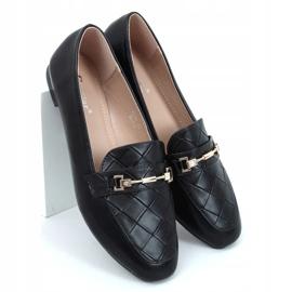 Black women's loafers JL76 Black 3