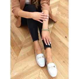 Gray Women's gray loafers JL76 Gray blue grey 1