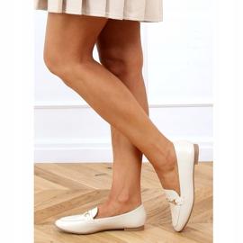Women's beige loafers JL76 Beige 1