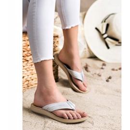 Evento Comfortable flip-flops grey 5