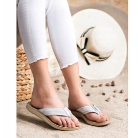 Evento Comfortable flip-flops grey 4