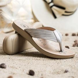 Evento Comfortable flip-flops grey 1