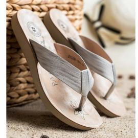 Evento Comfortable flip-flops grey 3