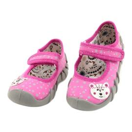 Befado children's shoes 109P209 pink grey 2