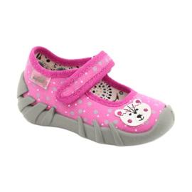 Befado children's shoes 109P209 pink grey 1