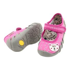 Befado children's shoes 109P209 pink grey 3