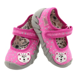 Befado children's shoes 109P209 pink grey 4