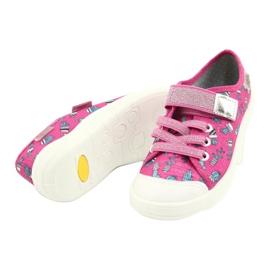 Befado children's shoes 251X167 pink silver 3