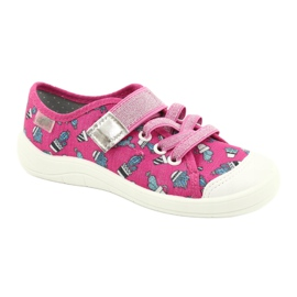 Befado children's shoes 251X167 pink silver 1