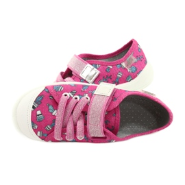 Befado children's shoes 251X167 pink silver 5