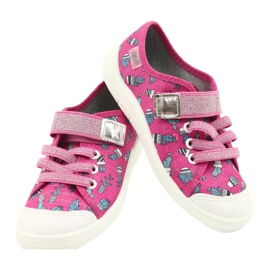 Befado children's shoes 251X167 pink silver 4