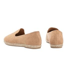 Beige women's Kathryn loafers 2