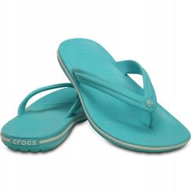 Crocs Women's Slippers Crocband Flip Blue 11033 4DY 3