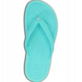 Crocs Women's Slippers Crocband Flip Blue 11033 4DY 2
