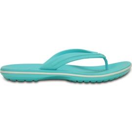 Crocs Women's Slippers Crocband Flip Blue 11033 4DY 4