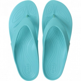 Crocs women's Kadee Ii Flip W sandals turquoise 202492 40M blue 2