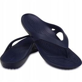 Crocs Kadee Ii Flip W women's slippers navy blue 202492 410 3