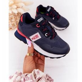 Children's Sport Shoes Memory Foam Big Star HH374171 Navy Blue 4