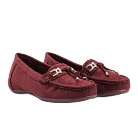 Darren maroon loafers red 1