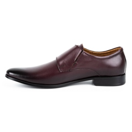 Lukas Leather formal shoes Monki 287LU claret red 1