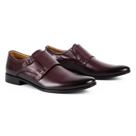Lukas Leather formal shoes Monki 287LU claret red 2