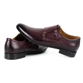 Lukas Leather formal shoes Monki 287LU claret red 5