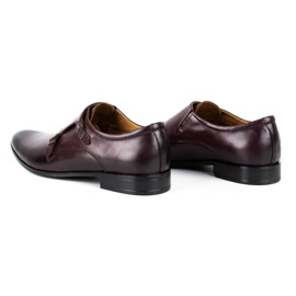 Lukas Leather formal shoes Monki 287LU claret red 6