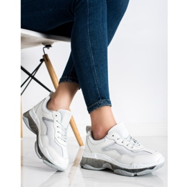 Goodin Leather Sneakers white 3
