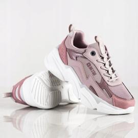 Women's Sneakers Big Star HH274258 violet pink 1