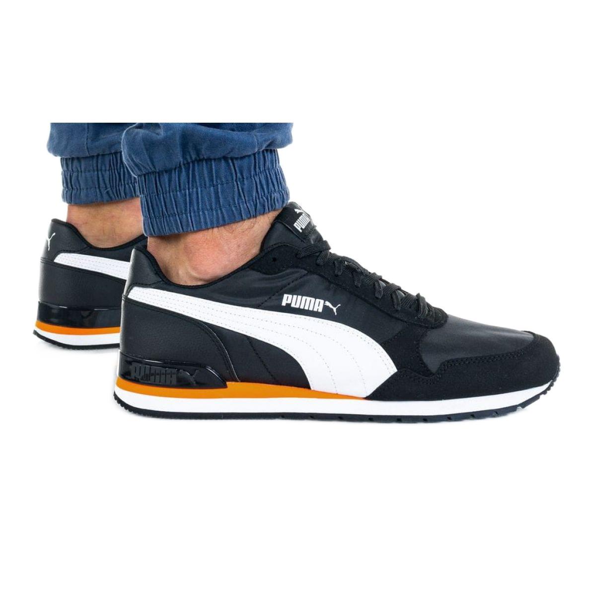 Puma St Runner V2 Nl M 365278 33 shoes white black orange