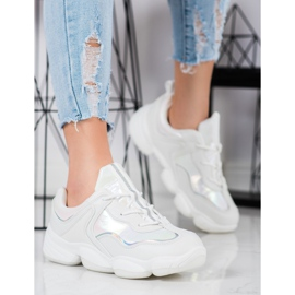 Kylie Stylish Sport Shoes white 4