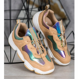 Kylie Stylish Sport Shoes beige multicolored 2